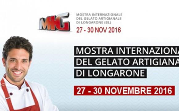 Saremo presenti al MIG (Mostra Internazionale del Gelato) di Longarone (BL) – 27/30 Novembre 2016